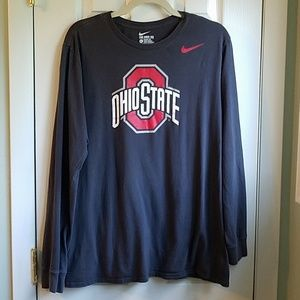 Nike Ohio State Long Sleeve Tee